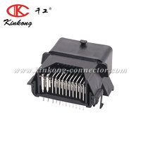 Automotive electrical ecu connector 48 pin of female and male for connector