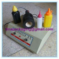 semi-automatic plastic pet dry fruit special cap sealer packaging machine