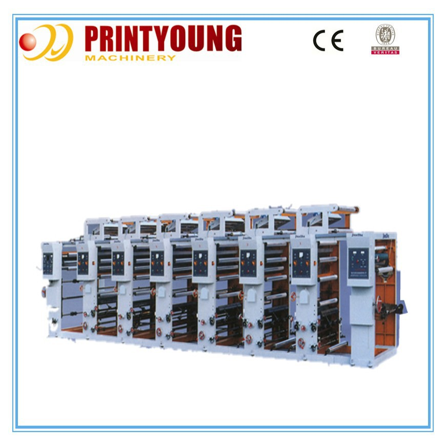 Full Automatic high speed rotogravure printing machine