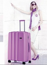 2017 new pp purple luggage