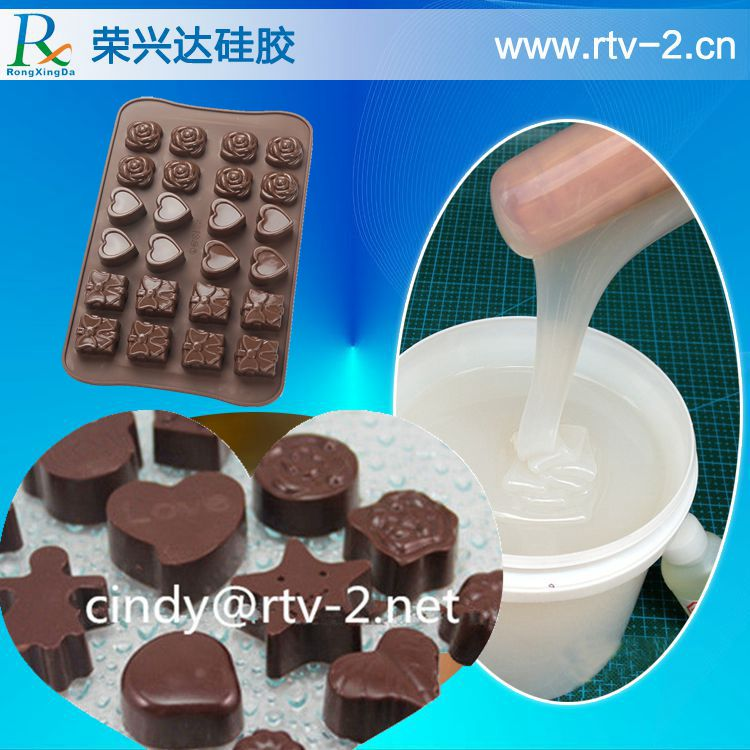 Good quality food grade liquid silicone for making mold for cake, chocolate