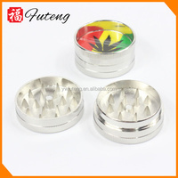 Hard Top 4 Piece Tobacco Grinder Metal Cigarette Grinder