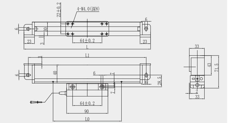 rdg 1um  5um digital optical linear scale linear encoder