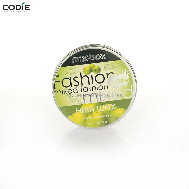 Professional olive hair wax for men styling