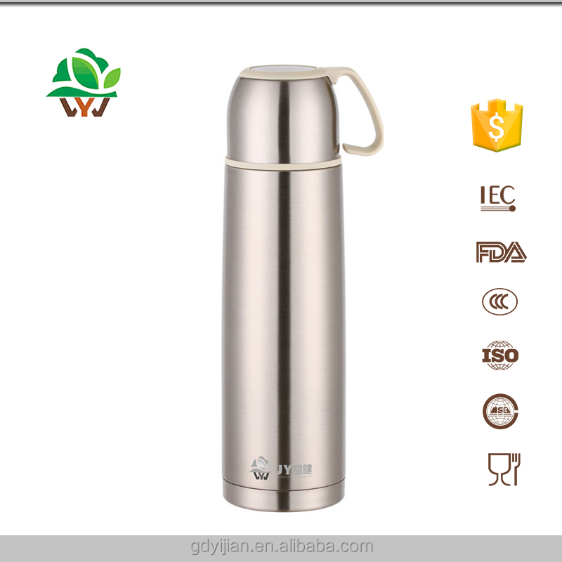 Food grade China 304 Stainless Steel Vacuum Sealed Cup With 350 and 500ML