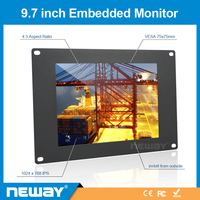 Security housing monitor with strong metal frame support home power