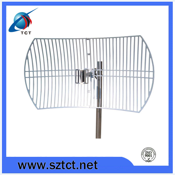 2.4G wifi parabolic grid antenna /wireless antenna 50km