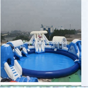 Kids adults like largest inflatable pool used swimming pool for sale