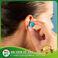 Waterproof Soft Silicone Swimming Ear Plug Earplug Silica gel mud With customised logo Box packing