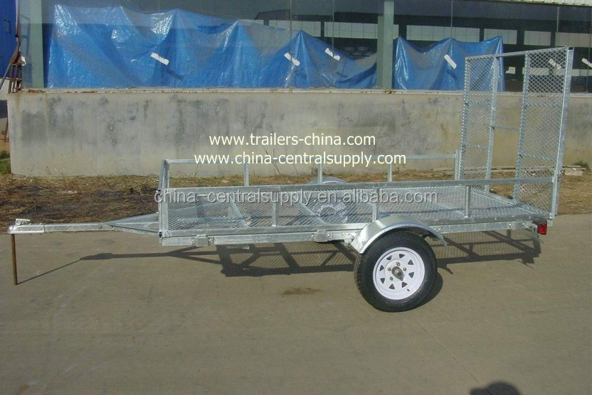Galvanized or powder coated ATV trailer for camping