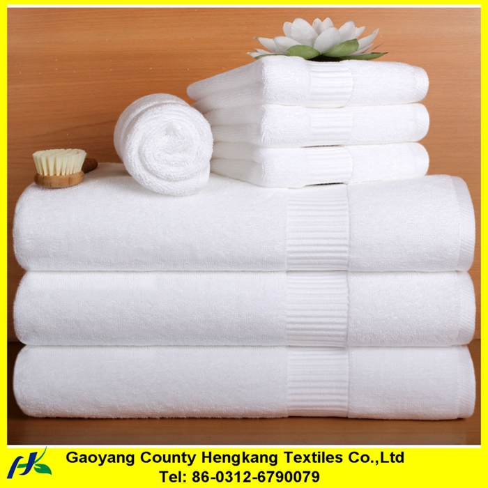 100% Organic Cotton Towels for hotels and home unbleached cotton towel
