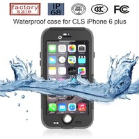2015 Newest Design Ultra Slim TPU Mobile Case for iPhone 6 Plus waterproof Case