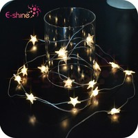 Christmas Decoration Battery Operated Decorative Star String Light