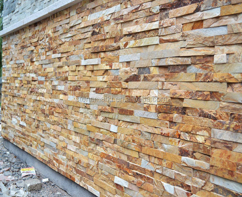 Natural Slate Cultured Stone, Natural Split Wall Cladding Tiles