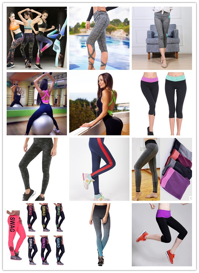 Hot sale Women sexy straps yoga pants Comfortable Yoga pants tight gym pants jogging wear