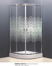 kds anti slip glass prefab homes for shower cubicle