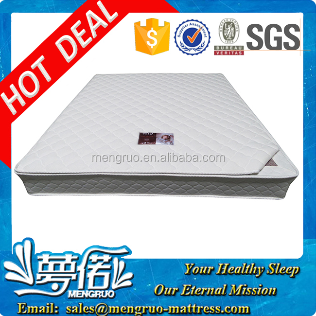 factory from China wholesale double bed mattress coir