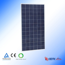 high efficiency high quality competitive price per watt poly 315w solar panel