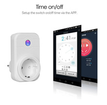 Wifi switch alexa smart home korea power socket plugs with apps