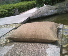 Water absorbent inflation sandbag sacks for emergent flood use