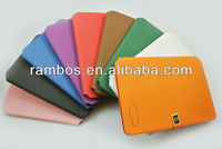 Wallet pu pouch sleeve case cover for iPad mini with card pocket