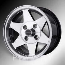 Flyway FW851 Classic Old Car Wheel For VW Beetle With Black Machined Face