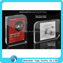 Special shaped clear magnetic picture frames keepsake photo frame
