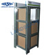 Heavy duty granite and marble tile metal display stand/stone metal stand rack for exhibition
