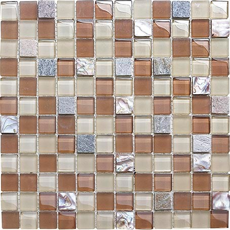 glass mosaic tile with competitive price per square meter