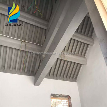 Elastic putty powder in the external walls