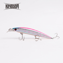 Kingdom Artificial Bait 3D real fish eyes 125mm 23g five color model 5354