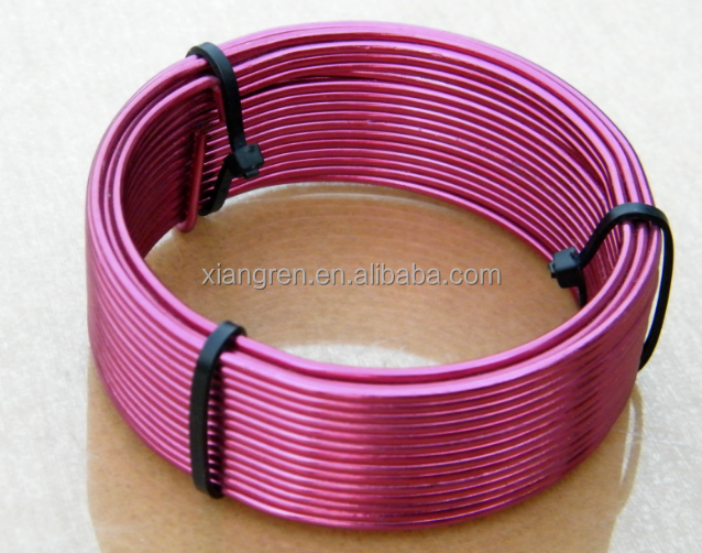 color aluminum wire / high quality at low price /wire for handmade DIY jewelry&beading