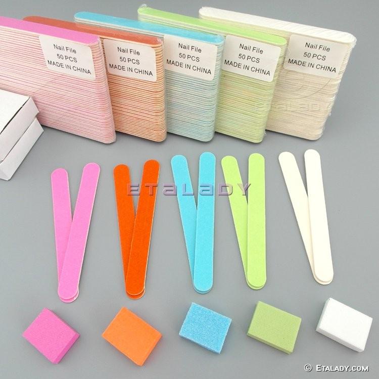 EL-D1151P-Y wooden disposable nail file