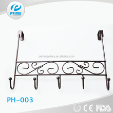 Door Hook Clothes Hangers Iron coat hook for clothes Festival decorative stainless steel rack