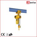 Electric chain hoist with electric motor trolley