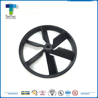 China custom made design variable speed flat pulley wheels