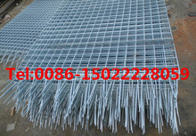 galvanized banded serrated grating