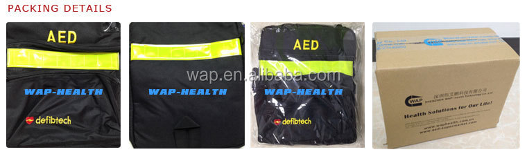 WAP'R Defibtech lifeline defibrillator soft customized AED carry bag