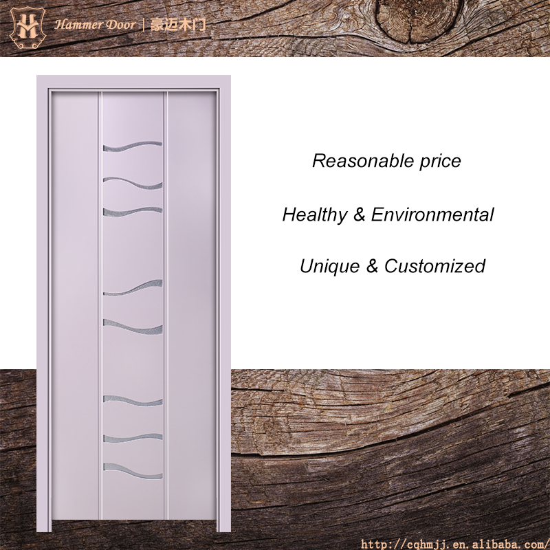 Hammer safety door design with grill and purple color