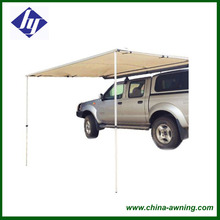 Manual Electric Optional Retractable Side Awning For Cars