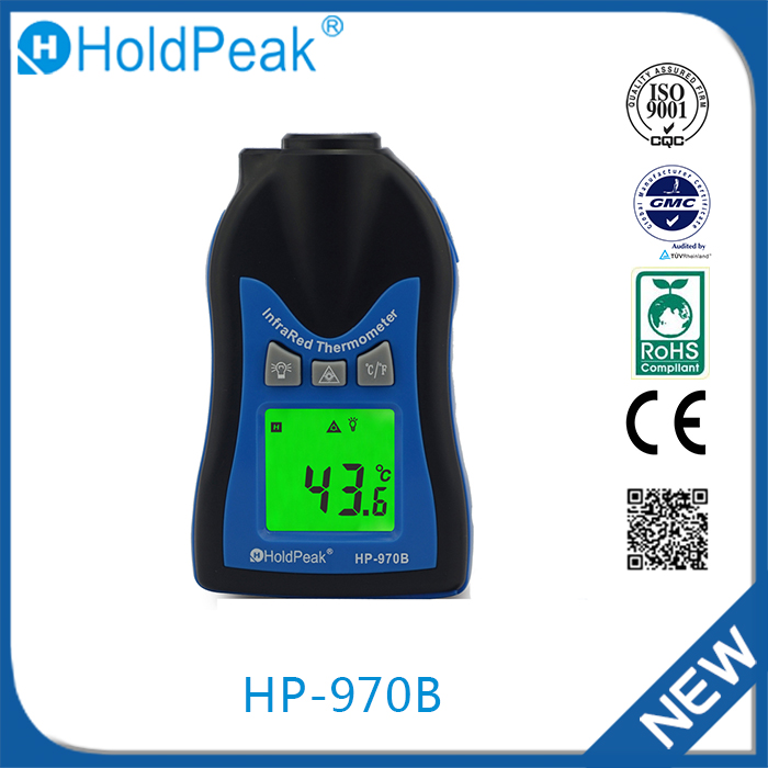 Hot sellnew products 60mV-1000V HP-970B alarm & non contact infrared thermometer