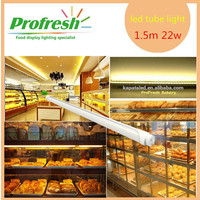 Profresh deli food 1.5m 22w t8 SMD2835 AC85-265V internal driver T8 led tube light