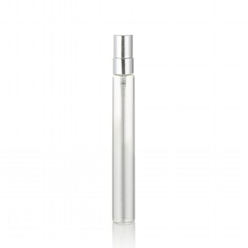 perfume packaging clear long 15ml 5ml perfume bottle 10ml glass vial with silver aluminum sprayer