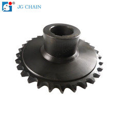 DIN8187 standard short pitch transmission steel 08b-1 sprocket