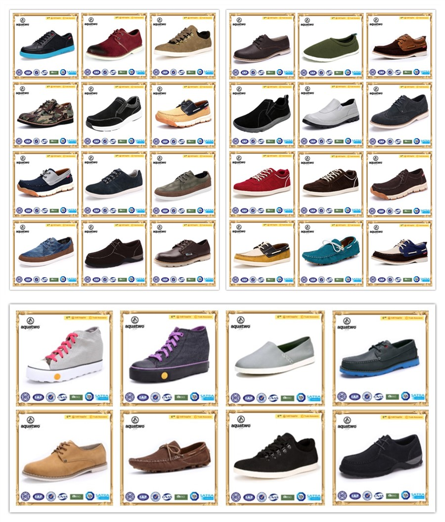 New Wholesale Customzie AquaTwo Men causal shoes