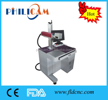 2d code laser marking machine fiber for metal and nonmetal