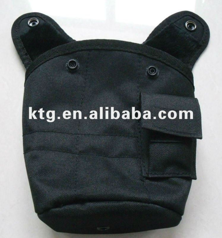Military black water canteen cover