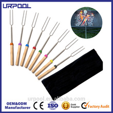 telescopic fork disposable stick for roast marshmallow roasting sticks