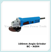 China electric power tools 600W 115mm electric angle grinder