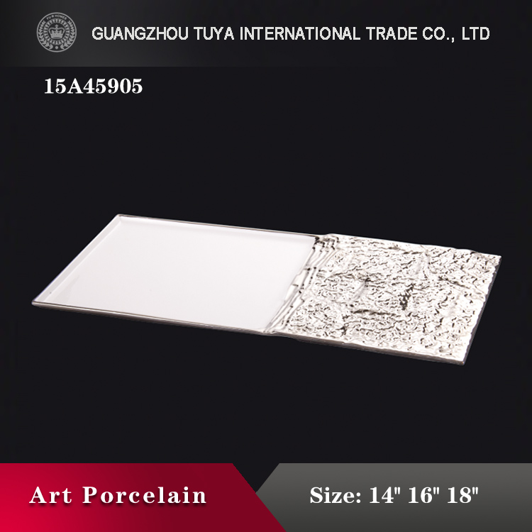 High quality decorative recamic display plate for wholesale price